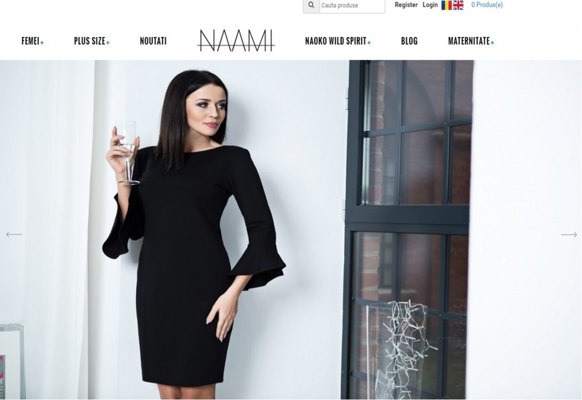 Fashion Online Shop - Naami