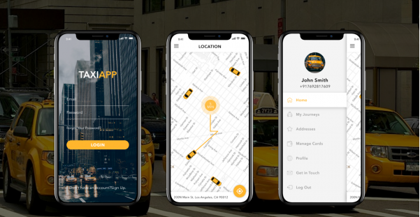 Software TAXI APP, Android & iOS Mobile App for Taxi Companies