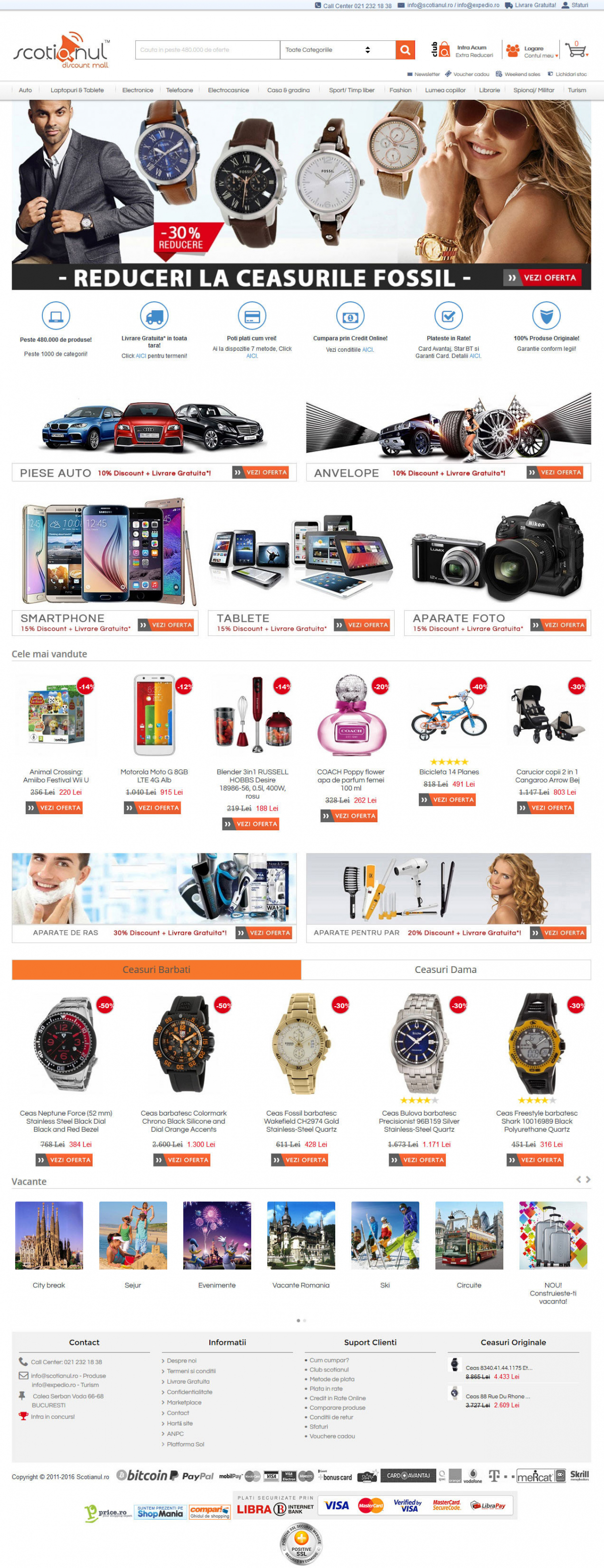 Online platform with vouchers and discounts - MegaPlaza