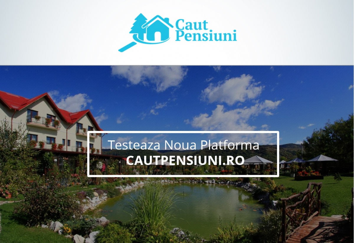 Online Promoting Platform for Pensions and Hotels - Cautpensiuni.ro