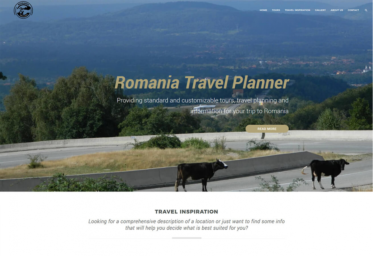 Romania Travel Planner Website