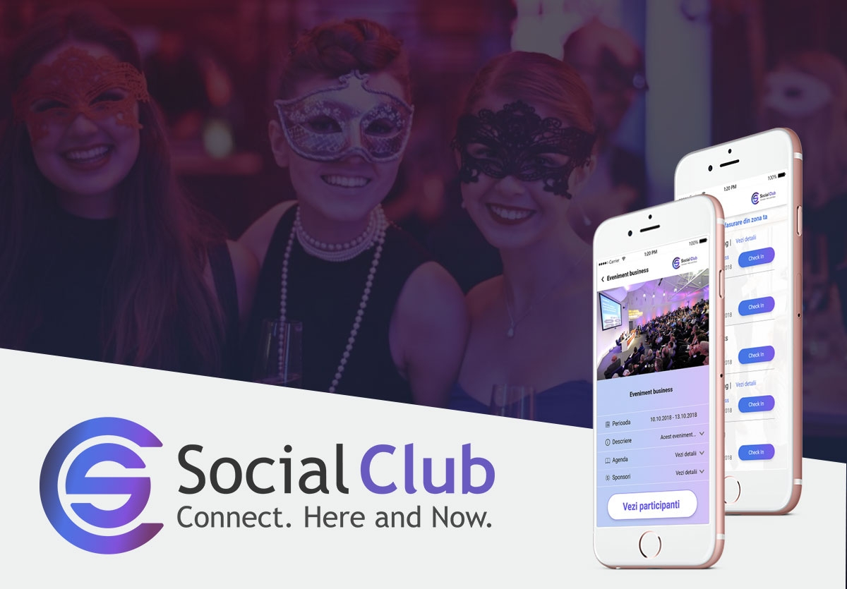 Aplicatie Mobile Android & iOS - Social Club