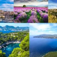 Summer weekend Marseille, Calanques, Champs de Lavande, Plage