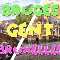Weekend Bruges & Bruxelles & Ghent 6-7 avril
