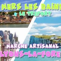 Mers-les-Bains & Marché Artisanal Lyons-la-Forêt - DAY TRIP