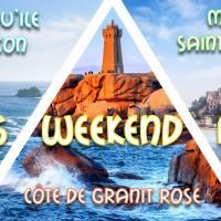 Long weekend férié Mont St-Michel, Côte de Granit Rose & Quimper