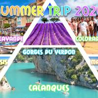 Summer weekend Marseille, Calanques, Champs Lavande, Plage 2020