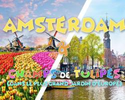Long weekend Amsterdam & the biggest flower garden of Europe