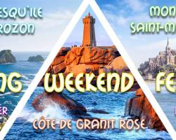Long weekend Côte de Granit Rose, Presqu'Ile & Mont St-Michel