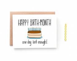 Birth Month - série des soirées d'anniversaire :)
