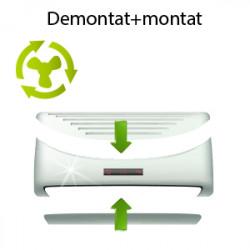 Demontat+transport+montat aparat aer conditionat