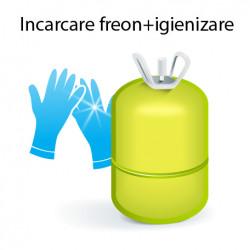 Incarcare freon, dezinfectare, curatare aparate aer conditionat 7000-12000 BTU