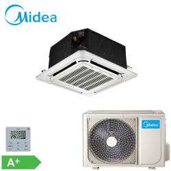 Caseta Midea Inverter 12000 btu MCA3U-12HRFN1-QRD0W