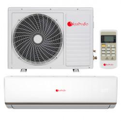 Aparat aer conditionat Yashido AC-24YDO, 24000 btu/h, ionizare, filtru lavabil, tehnologie PFC, silentios, timer, afisaj led, 5 ANI garantie compresor, A++