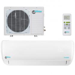 Aparat aer conditionat T klima AC-09TK-T,  Ionizare, Filtru cu carbon activ, Filtru antibacterian lavabil, Functia follow me, Afisaj led, Functionare silentioasa, Timer, A++, 5 ANI garantie compresor