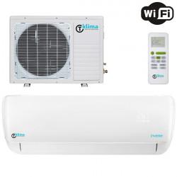 Aparat aer conditionat T klima AC-12TK-T WIFI, control la distanta WIFI,  Ionizare, Filtru cu carbon activ, Filtru antibacterian lavabil, Functia follow me, Afisaj led, Functionare silentioasa, Timer, A++, 5 ANI garantie compresor
