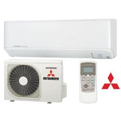 Aparat aer conditionat Mitsubishi Heavy SRK25ZMP-S/SRC25ZMP-S 9000 btu/h, auto-uscare, functie Hi-Power, memorare pozitie flapsuri, auto-restart, timer 0n-off 24h, ventilator anti-microbian, fabricat in Thailanda, 23 dB, A++