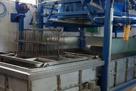 Cuptor industrial calire si punere in solutie