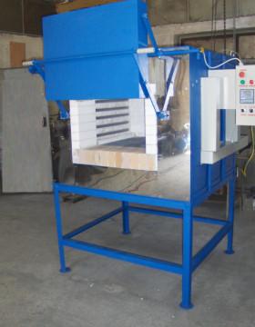 Cuptor industrial tratamente L800X800X1200
