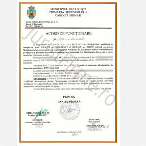 Acord de Functionare Sector 5