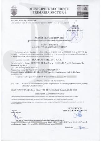 Acord de Functionare Sector 6