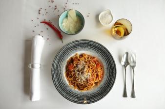 Spaghete cu ragu de vita à la bolognese