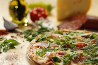 pizza prosciutto & rucola