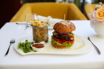 hamburger gourmet din vita charolaise