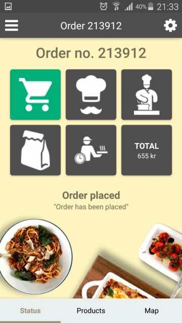 Android & iOS Mobile Application Delivery Orders - Restaurant