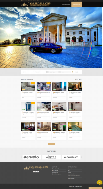 Web & Mobile Application for listing and promoting Real Estate Ads - Casa Regala