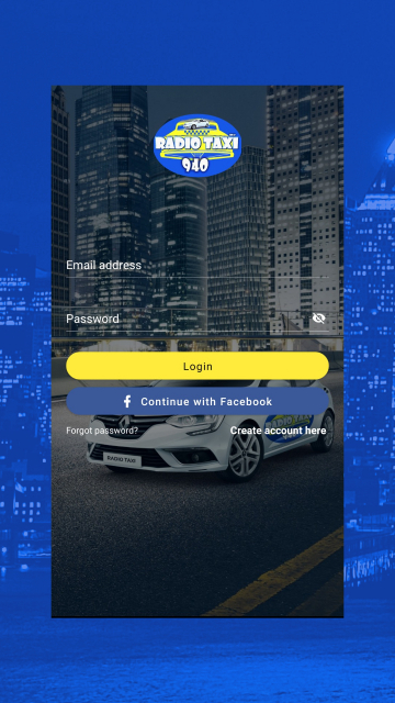 Radio Center - Taxi app for Android and iOS