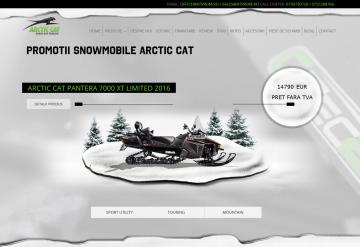 Portofoliu Magazin Online Snowmobile Arctic Cat