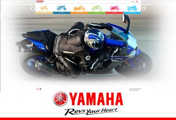 Portofoliu Site Prezentare Motociclete Yamaha