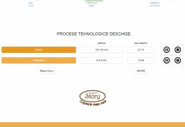 Portofoliu Soft monitorizare productie cofetarie - Target Prod