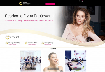 Portofolio E-Concept: Online Beauty Store linked with Android & iOS Mobile App