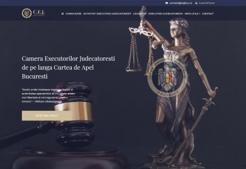 Portofolio Website & Web App - CEJ Bucharest