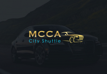 Portofolio Presentation website for a company's exclusive transport and airport transfer services - MCCA City Shuttle