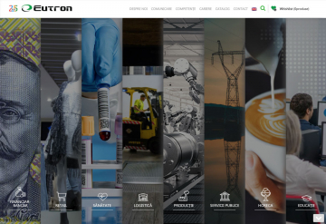 Portofoliu Eutron – Website de prezentare si administrare servicii companie