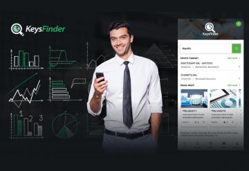 Portofoliu KeysFinder - Aplicatie Mobile pentru verificarea in timp real a informatiilor despre companiile din Romania