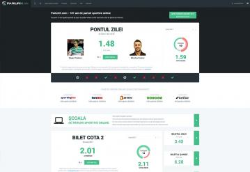Portofoliu Platforma online cu ponturi de pariere si agentii de pariuri - PariuriX