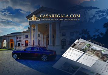 Portofoliu Website & Aplicatie Mobile pentru listarea si promovarea Anunturilor Imobiliare - Casa Regala