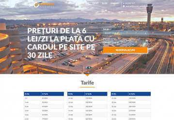 Portofoliu Aplicatie Web Rezervari Parcare Auto - Express Parknfly
