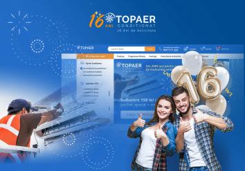 Portofoliu Platforma Ecommerce & Sistem CRM Administrare Comenzi - Top Aer Conditionat