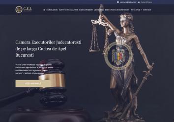 Portofoliu Aplicatie Web & Website de Prezentare - CEJ Bucuresti