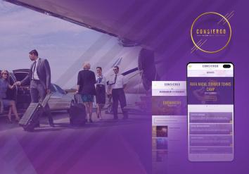 Portofoliu Aplicatie Mobile Android & iOS dedicata serviciilor de concierge - Consiergo