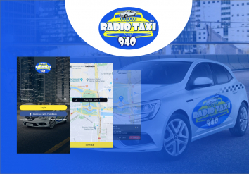 Portofoliu Radio Center - Aplicatie taxi pentru Android si iOS