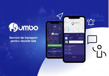 Portofoliu Jumbo Drive - Aplicatie Android & iOS Ride Sharing
