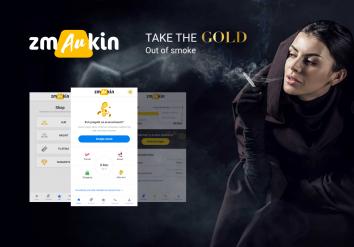 Portofoliu Zmaukin - Aplicatie Mobile Android & iOS de Economisire prin Vicii