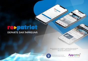 Portofoliu Repatriot - Aplicatie Mobile pentru listare oportunitati de business si joburi Diaspora