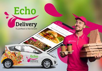 Portofoliu Echo Delivery - Aplicatie tip agregator pentru comanda si livrare mancare la domiciliu